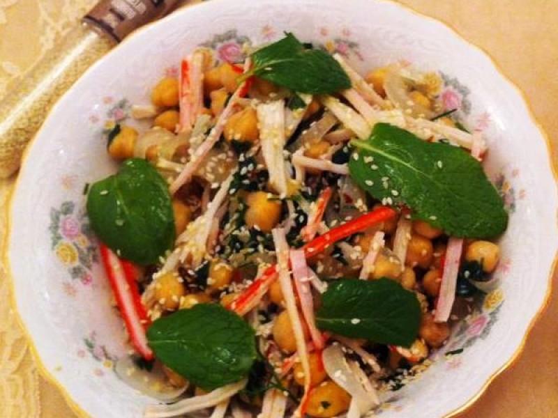 Salada Sírio-Japonesa Multi Gosto