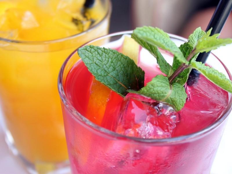 Suco de fruta detox com gengibre em pó Multi Gosto